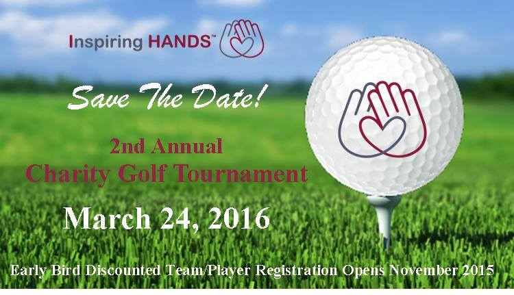 save the date 2nd annual charity golf tournament inspiring hands