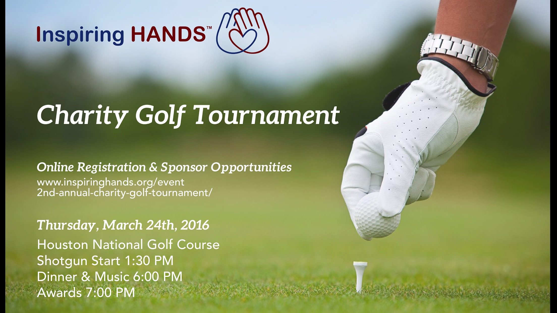 CLICK HERE To View The Golf Tournament Brochure