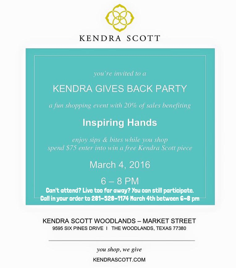 Kendra Scott Gives Back Inspiring HANDS