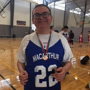 Luke Braun Special Olympics